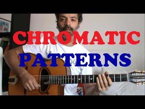 Swing Manouche Lesson: 8 Chromatic Patterns - Played by Riccardo Annolfi