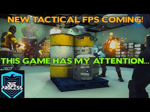 Due Process Reveal || New 5v5 Tactical FPS in development