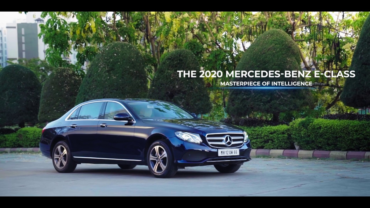 The 2020 Mercedes-Benz E-Class: India's most loved limousine. #MasterpieceOfIntelligence