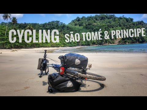 Cycling in the natural wonder ⛰Sao Tome | CATW#10 | BikingBass Bikepacking