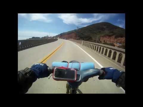 LOS ANGELES to FORT BRAGG - Honda Passport & Honda CA100