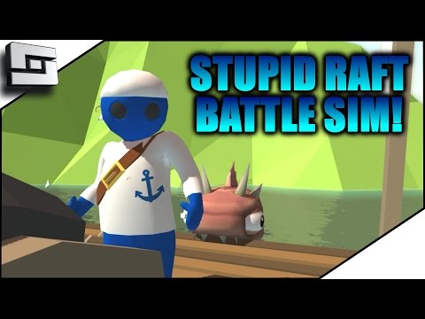 Stupid Raft Battle Simulator - TABS OF THE CARIBBEAN! | Sl1pg8r