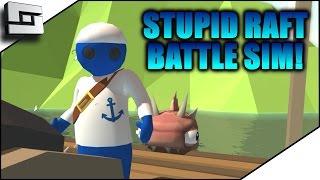 Stupid Raft Battle Simulator - TABS OF THE CARIBBEAN!   Sl1pg8r