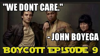 John Boyega Sarcastically Endorses Episode IX Boycott