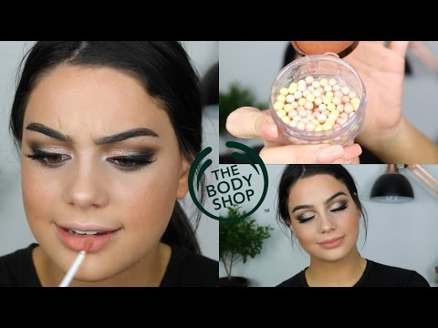 TESTING THE BODY SHOP MAKEUP | HIT OR MISS?