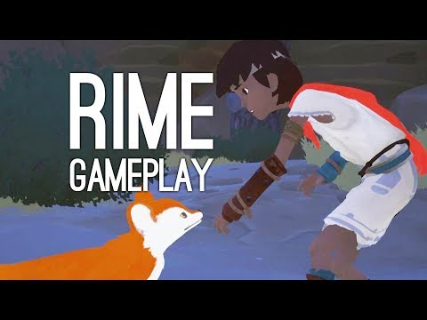 Rime Gameplay: Let's Play Rime on PS4 - FOX PALS! ISLAND ADVENTURE! TINY CRABS!