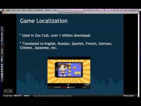 Hidden Game Design Mechanic #104: Game Localization and Globalization