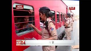 rpf virangna squad ensures women security in trains rpf has launched a special women squad