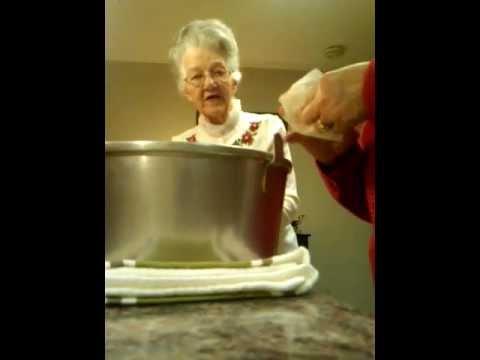 (4) Mamaw Ada~the Orange Slice Cake :D Christmas 2011 (12/19)