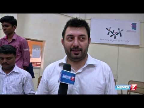 Arvind Swamy retells famous dialogue from
