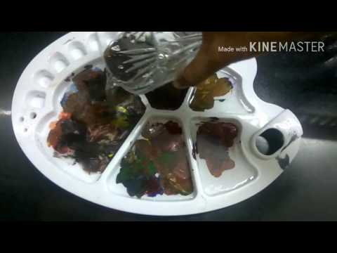 how to remove acrylic paint from plastic