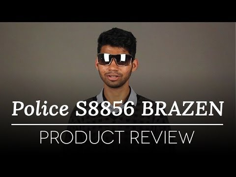 Police Sunglasses Review - Police BRAZEN S8856 579X Sunglasses Review