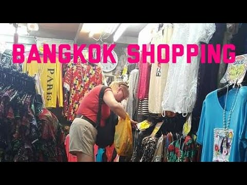 Bangkok PRATUNAM Early Market December 2015
