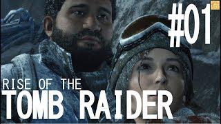Rise Of Tomb Raider 実況#01 「痛ったいから!」