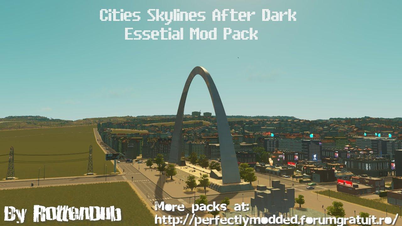 Cities Skylines Essential Mods Pack Presentation 1