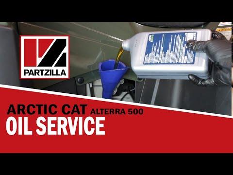 Arctic Cat Alterra Oil Change | Arctic Cat 500 Oil Change | Arctic Cat ATV Oil Change | Partzilla