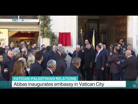 Vatican-Palestinian Relations: Abbas inaugurates embassy in Vatican City