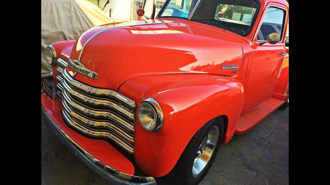 Chevrolet 3100 Interior Restoration Youtube 1949 Chevy Pickup Truck