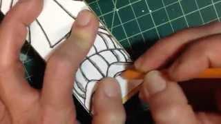 Tiki carving step 2