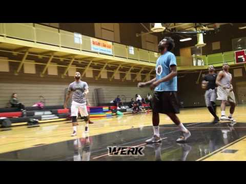 Werk Club Run 17' Lance Stephenson Terrence Williams Donte Poole Anthony Marshall Jamaal Smith