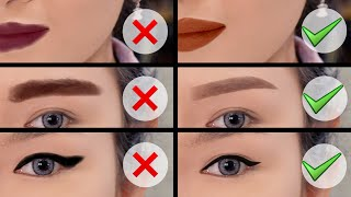 BELAJAR MAKEUP SEMPURNA.. | TIPS & TRICKS KOREKSI BENTUK ALIS, EYELINER, LIPSTICKS.. MP3