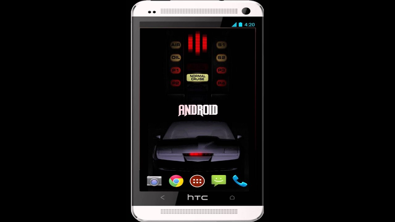 Knight Rider Android Live Wallpaper