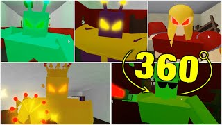 ROBLOX PIGGY ALIEN ALL JUMPSCARE 360