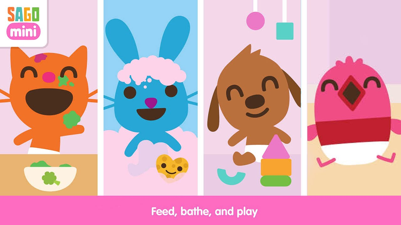 Sago Mini Babies - Best Game for Kids - iPhone/iPad/iPod Touch - YouTube