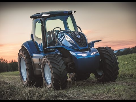 The New Holland Agriculture Methane Powered Concept Tractor (Full Version)