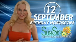 Birthday September 12th Horoscope Personality Zodiac Sign Virgo Astrology