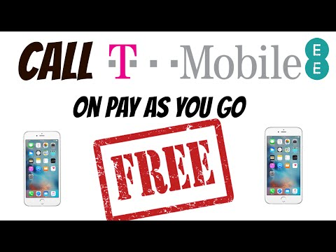 Call EE / T-Mobile Customer Services For Free, On Pay As You Go. (No Nonsense