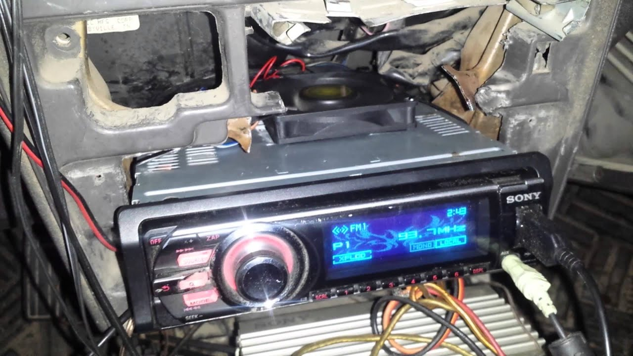 Modified Pc Fan For Cooling Car Stereo