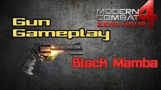 Modern Combat 4: Gun Gameplay | Black Mamba