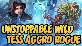 Hearthstone: Unstoppable Wild Tess Aggro Rogue