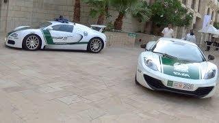DUBAI POLICE CARS!