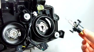 采鑽 ( CAI ZUAN )-YAMAHA BW'S R專用LED大燈安裝步驟 How to Install LED on BWSR | PatentProductAvailableonwebike