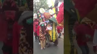 Arak-arakan Rancaekek Wetan Agustusan 2017 Oray Liong 2
