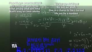Gambar cover Suraj Jagan & Sharman Joshi - Give Me Some Sunshine (3 Idiots OST) - (Lyrics + Malay & Eng Subs)
