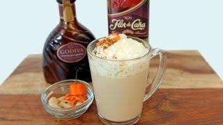 Chocolate Rum Cocktail Recipe | Happiest Hour