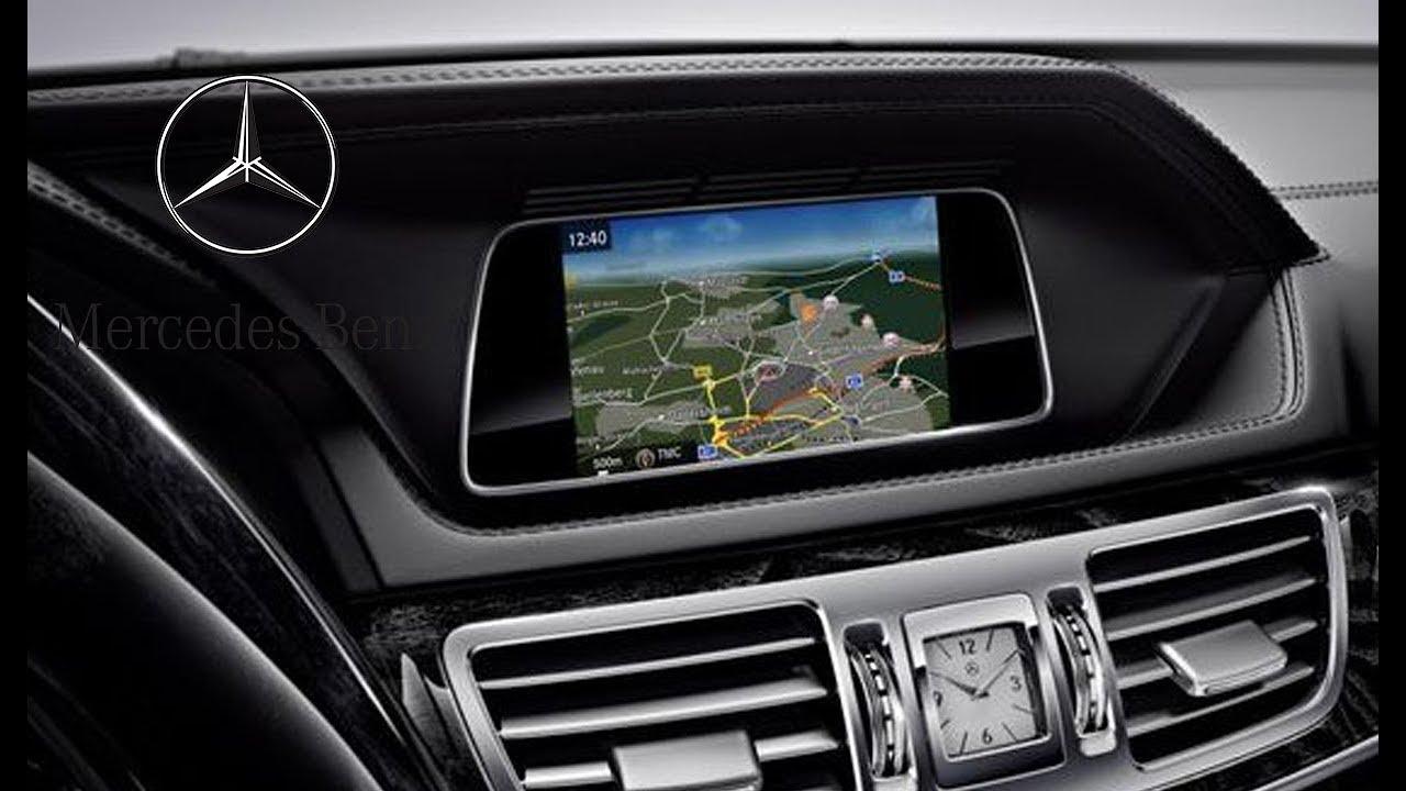 Mercedes navigation system command online ntg 4 7 for for How to use mercedes benz navigation system