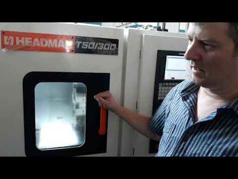 Наладка токарного станка с ЧПУ Headman T50/300