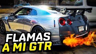 FLAMAS POR EL ESCAPE PARA MI GTR.. | ManuelRivera11
