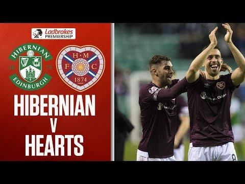 Hibernian 0-1 Hearts | Olly Lee Goal Gives Craig Levein Side's Win | Ladbrokes Premiership