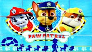 Щенячий Патруль спешит на помощь - собираем кубики пазлы для детей PAW Patrol | Danik and Lesha