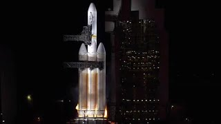 Last second abort for Delta 4 Heavy spy satellite launch