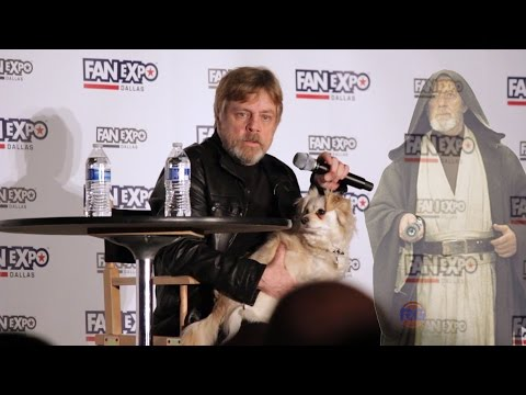 Mark Hamill Channels Sir Alec Guinness Plus Millie Crashes his Panel