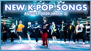 NEW K-POP SONGS | AUGUST 2020 (WEEK 2)