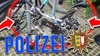 Fahrrad GEKLAUT! 🚨👮 ANZEIGE bei der POLIZEI ERSTATTET! 🚨 HeySkalle // #SHGang