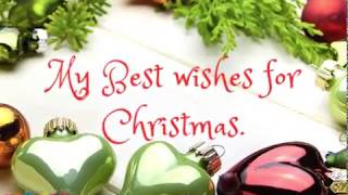 Merry Christmas | Christmas wishes images with song for everyone by wishins 2018