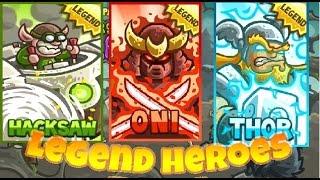 THOR IN KINGDOM RЏSH ? - Oni, Hacksaw - Heroes in Action